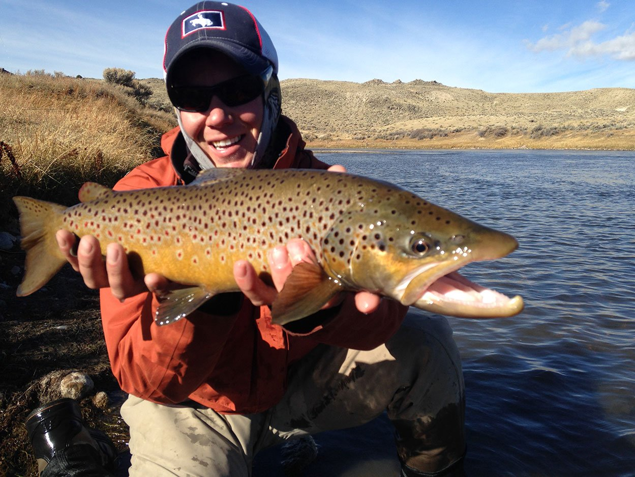 North platte river fly fishing guides drift for North platte fishing report